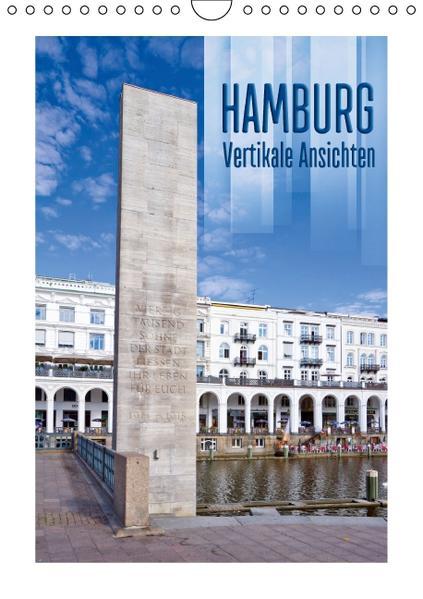 HAMBURG Vertikale Ansichten (Wandkalender 2017 DIN A4 hoch) - Coverbild