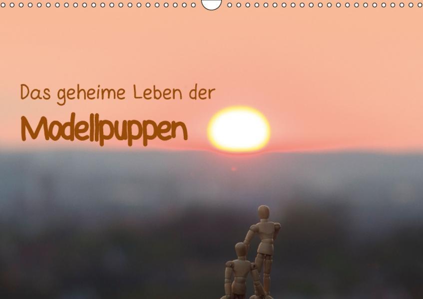 Das geheime Leben der Modellpuppen (Wandkalender 2017 DIN A3 quer) - Coverbild