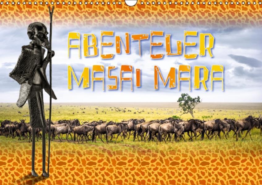 Abenteuer Masai Mara (Wandkalender 2017 DIN A3 quer) - Coverbild