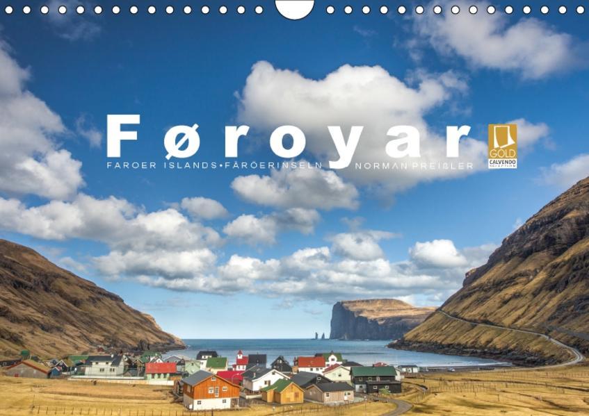 Føroyar • Faroe Islands • Färöer Inseln (Wandkalender 2017 DIN A4 quer) - Coverbild