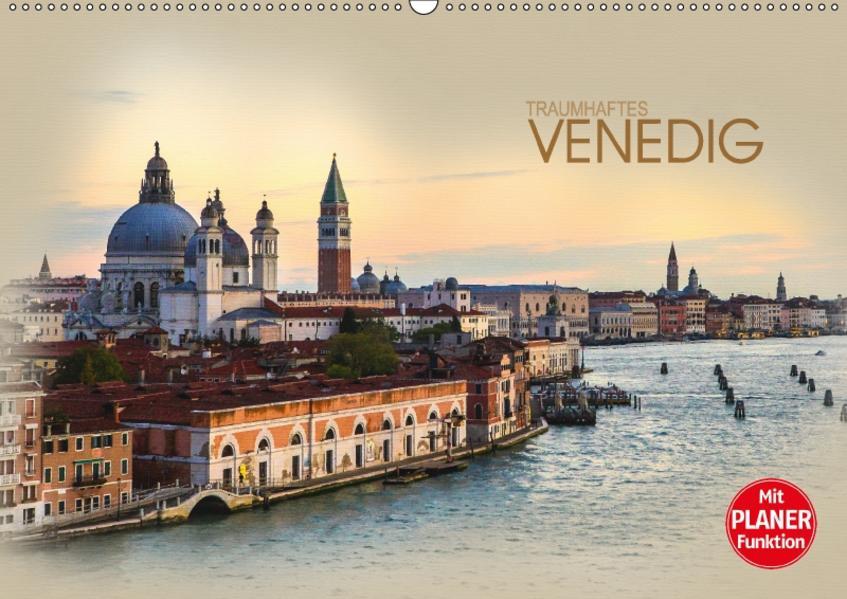 Traumhaftes Venedig (Wandkalender 2017 DIN A2 quer) - Coverbild