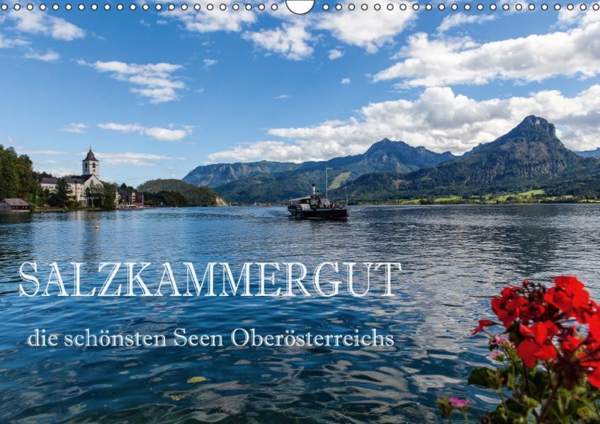Salzkammergut - Die schönsten Seen Oberösterreichs (Wandkalender 2017 DIN A3 quer) - Coverbild