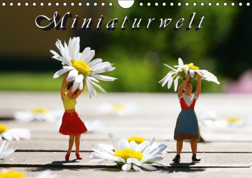 Miniaturwelt (Wandkalender 2017 DIN A4 quer) - Coverbild