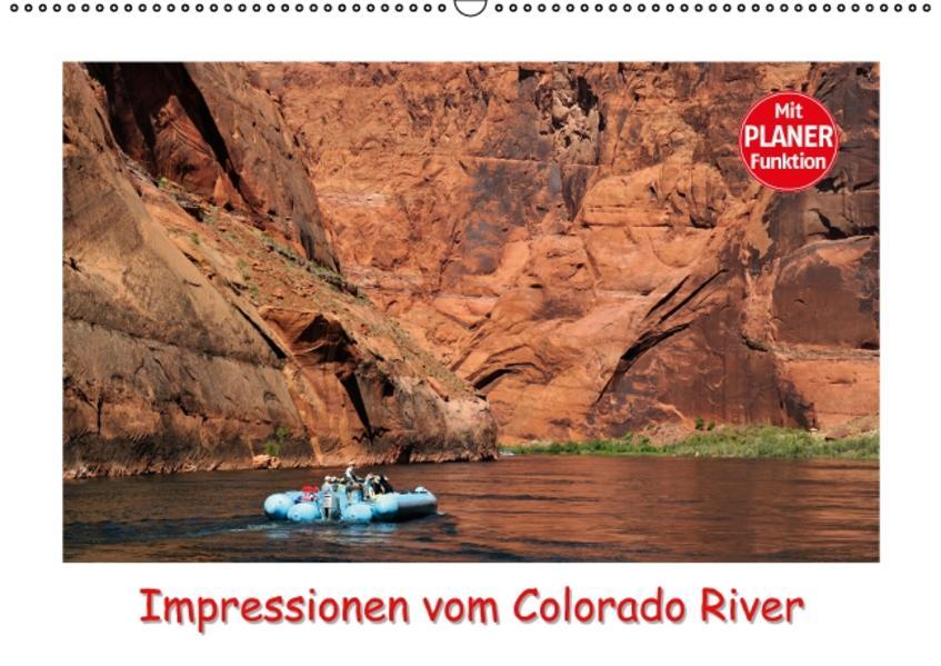 Impressionen vom Colorado River (Wandkalender 2017 DIN A2 quer) - Coverbild