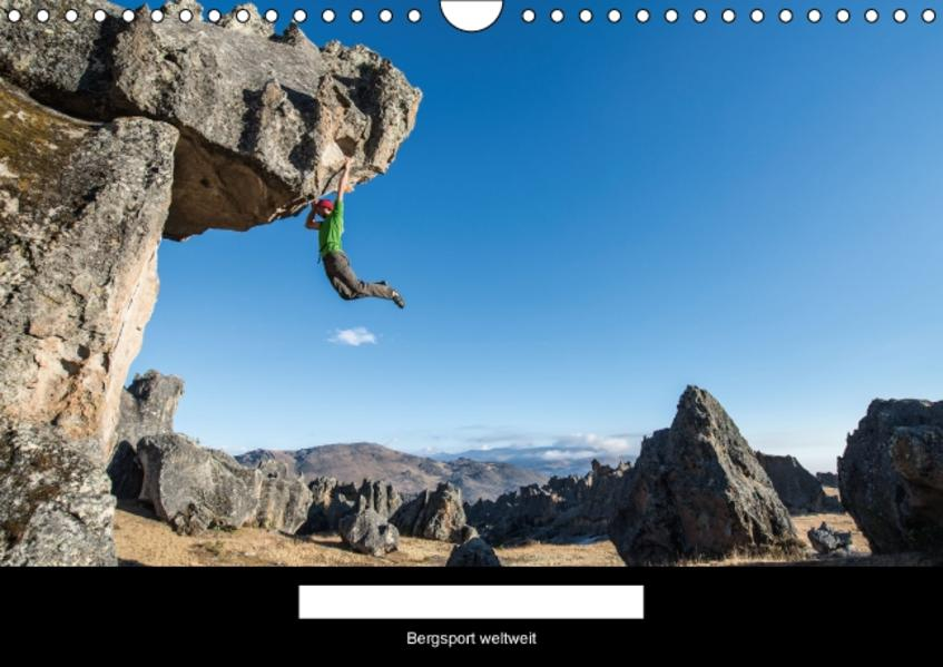 Climbing Solutions - Bergsport weltweit (Wandkalender 2017 DIN A4 quer) - Coverbild