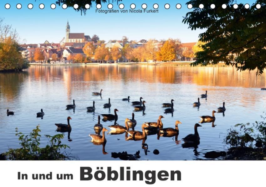 In und um Böblingen (Tischkalender 2017 DIN A5 quer) - Coverbild