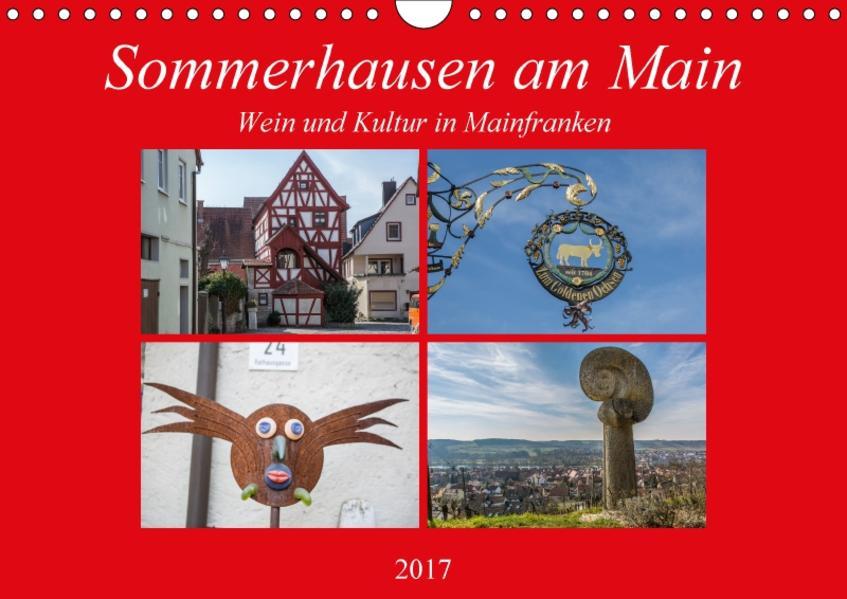 Sommerhausen am Main (Wandkalender 2017 DIN A4 quer) - Coverbild