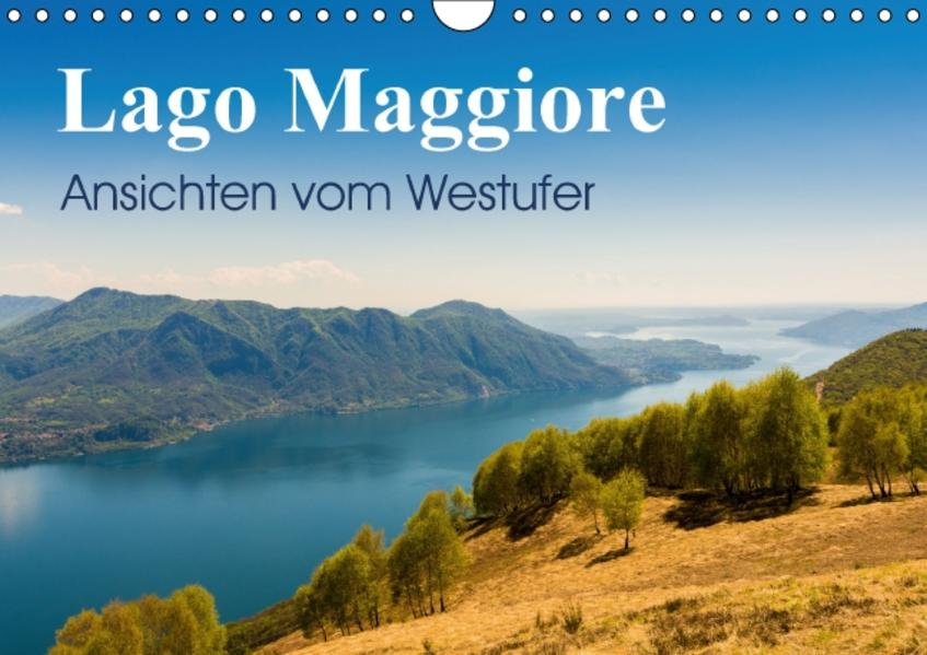 Lago Maggiore - Ansichten vom WestuferAT-Version  (Wandkalender 2017 DIN A4 quer) - Coverbild