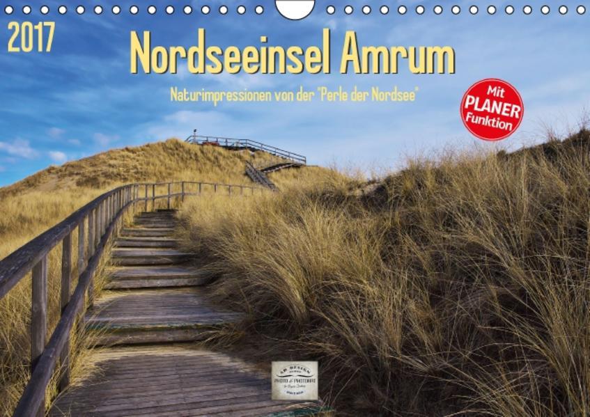 Nordseeinsel Amrum (Wandkalender 2017 DIN A4 quer) - Coverbild