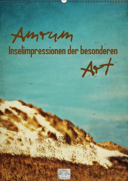 Amrum Inselimpressionen der besonderen Art (Wandkalender 2017 DIN A2 hoch) - Coverbild
