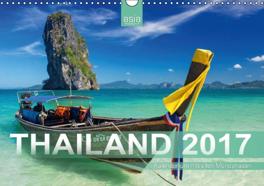 Thailand 2017 mit Mondphasen (Wandkalender 2017 DIN A3 quer) - Coverbild