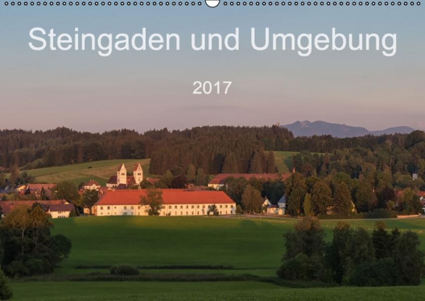 Steingaden und Umgebung (Wandkalender 2017 DIN A2 quer) - Coverbild