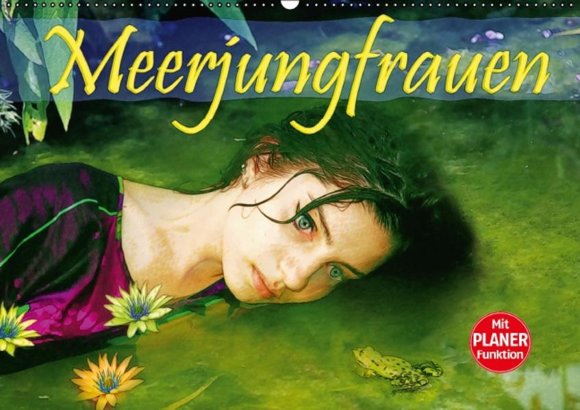 Meerjungfrauen (Wandkalender 2017 DIN A2 quer) - Coverbild