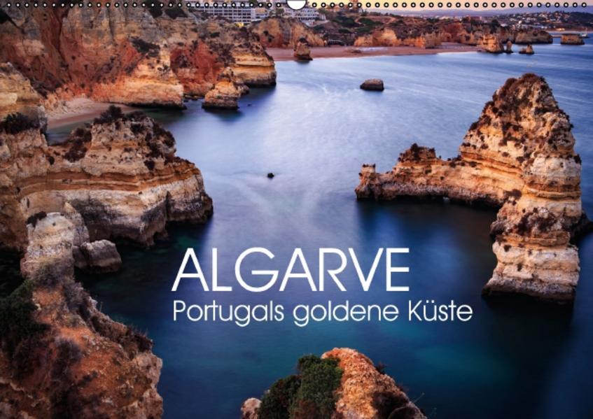 Algarve - Portugals goldene Küste (Wandkalender 2017 DIN A2 quer) - Coverbild