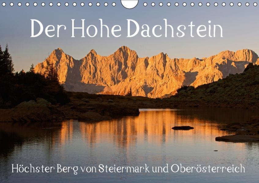 Der Hohe Dachstein (Wandkalender 2017 DIN A4 quer) - Coverbild