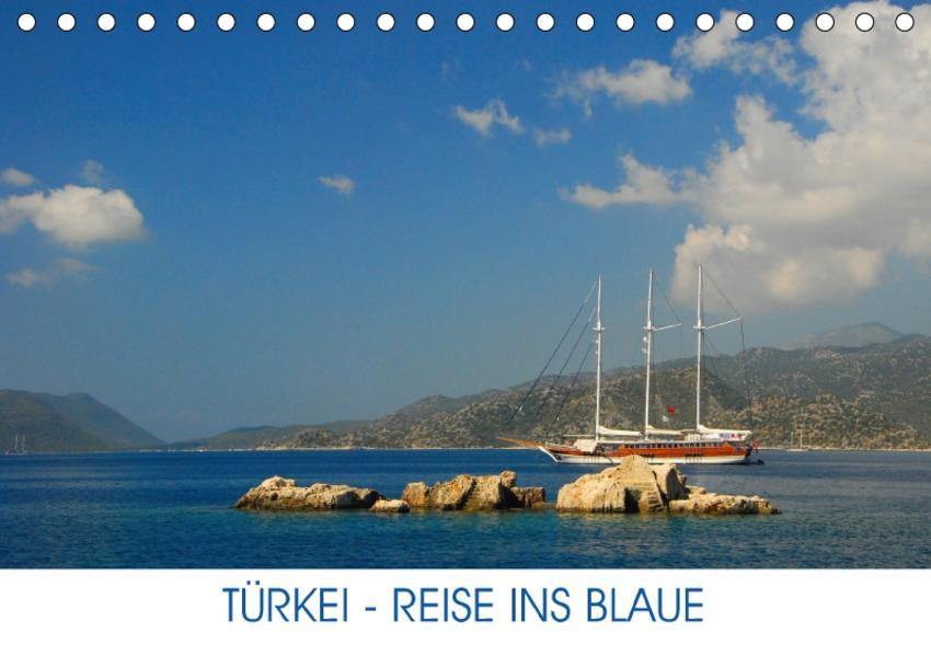 Türkei - Reise ins Blaue (Tischkalender 2017 DIN A5 quer) - Coverbild