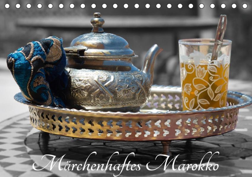 Märchenhaftes Marokko (Tischkalender 2017 DIN A5 quer) - Coverbild