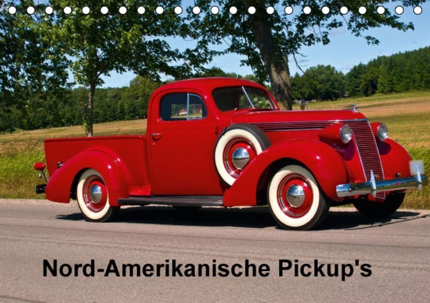 Nord-Amerikanische Pickup's (Tischkalender 2017 DIN A5 quer) - Coverbild