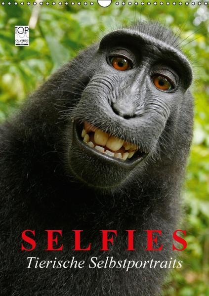 Selfies. Tierische Selbstportraits (Wandkalender 2017 DIN A3 hoch) - Coverbild