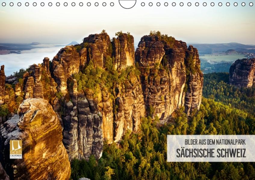 Bilder aus dem Nationalpark Sächsische Schweiz (Wandkalender 2017 DIN A4 quer) - Coverbild