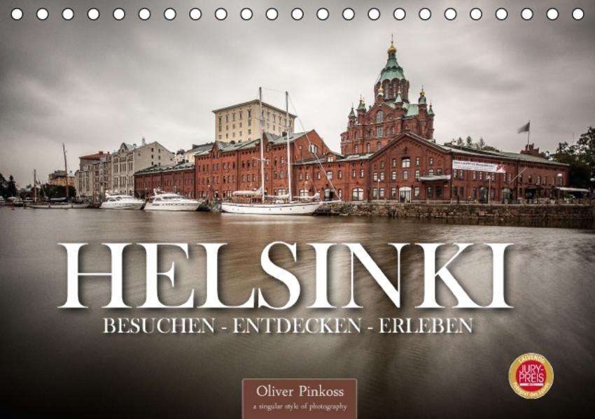Helsinki / Besuchen - Entdecken - Erleben (Tischkalender 2017 DIN A5 quer) - Coverbild