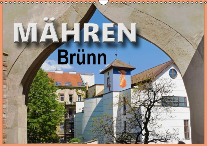 Mähren - Brünn (Wandkalender 2017 DIN A3 quer) - Coverbild