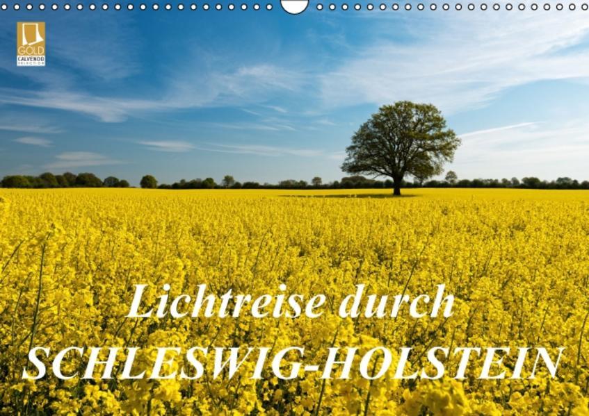 Lichtreise durch Schleswig-Holstein (Wandkalender 2017 DIN A3 quer) - Coverbild