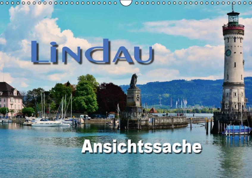 Lindau - Ansichtssache (Wandkalender 2017 DIN A3 quer) - Coverbild