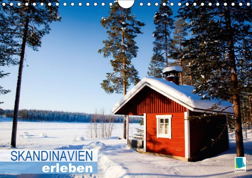 Skandinavien erleben (Wandkalender 2017 DIN A4 quer) - Coverbild
