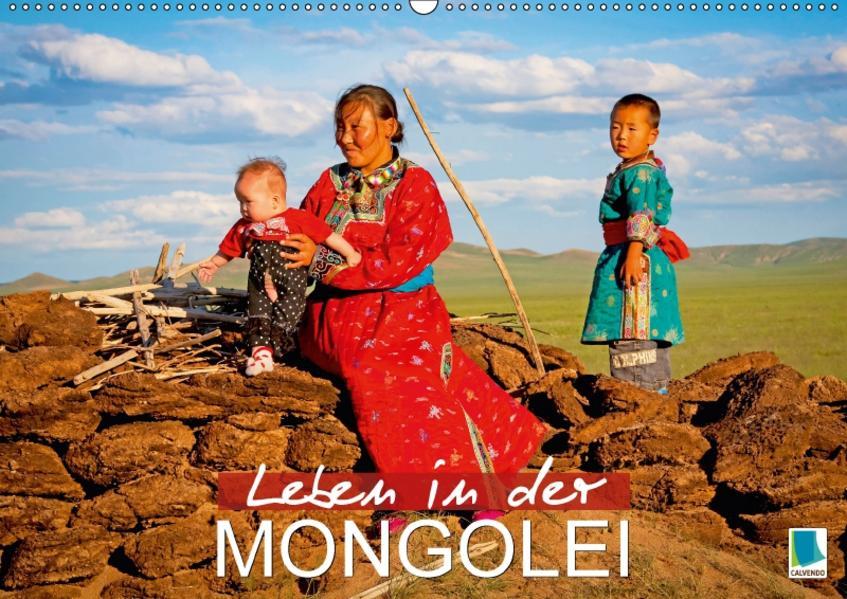 Leben in der Mongolei (Wandkalender 2017 DIN A2 quer) - Coverbild
