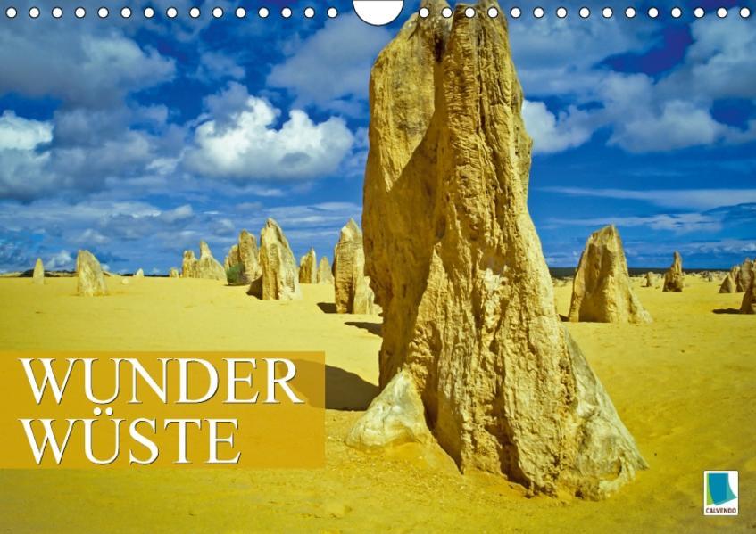 Wunder Wüste (Wandkalender 2017 DIN A4 quer) - Coverbild