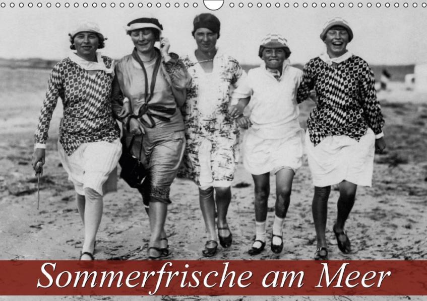 Sommerfrische am Meer (Wandkalender 2017 DIN A3 quer) - Coverbild