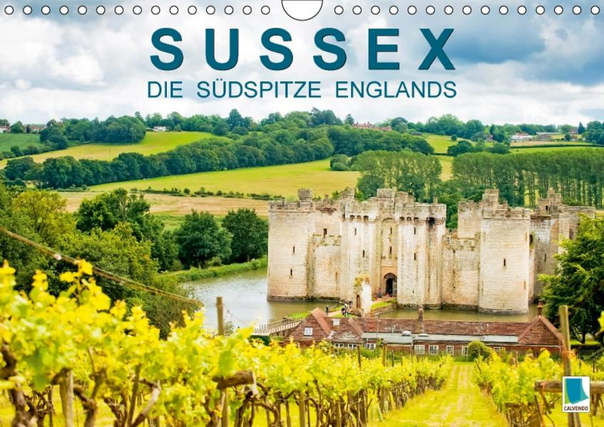 Sussex – die Südspitze Englands (Wandkalender 2017 DIN A4 quer) - Coverbild