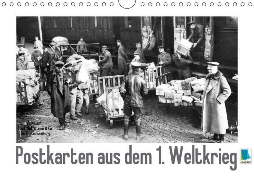Postkarten aus dem 1. Weltkrieg (Wandkalender 2017 DIN A4 quer) - Coverbild