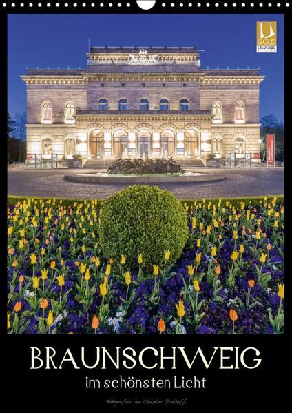 Braunschweig im schönsten Licht (Wandkalender 2017 DIN A3 hoch) - Coverbild