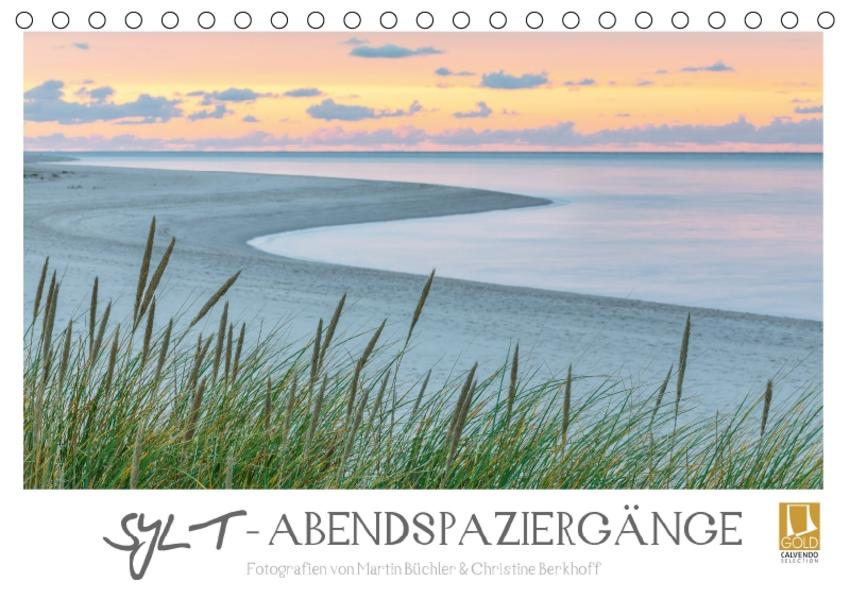 SYLT - Abendspaziergänge (Tischkalender 2017 DIN A5 quer) - Coverbild