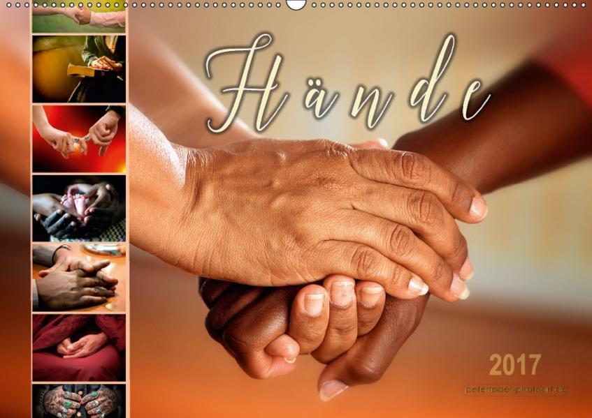 Hände (Wandkalender 2017 DIN A2 quer) - Coverbild