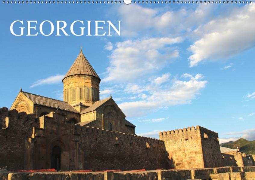 Georgien (Wandkalender 2017 DIN A2 quer) - Coverbild