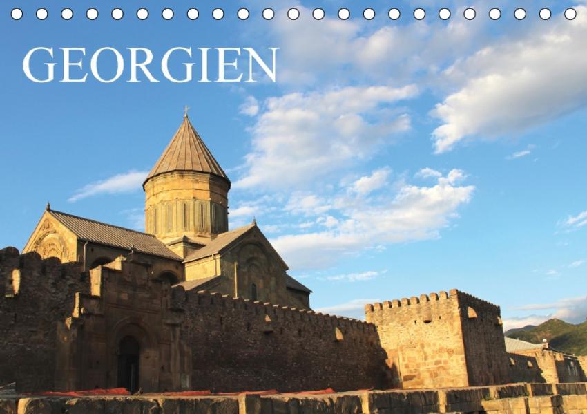 Georgien (Tischkalender 2017 DIN A5 quer) - Coverbild