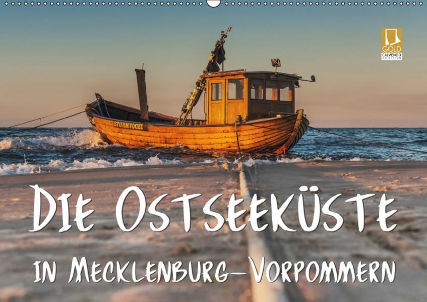 Die Ostseeküste in Mecklenburg-Vorpommern (Wandkalender 2017 DIN A2 quer) - Coverbild