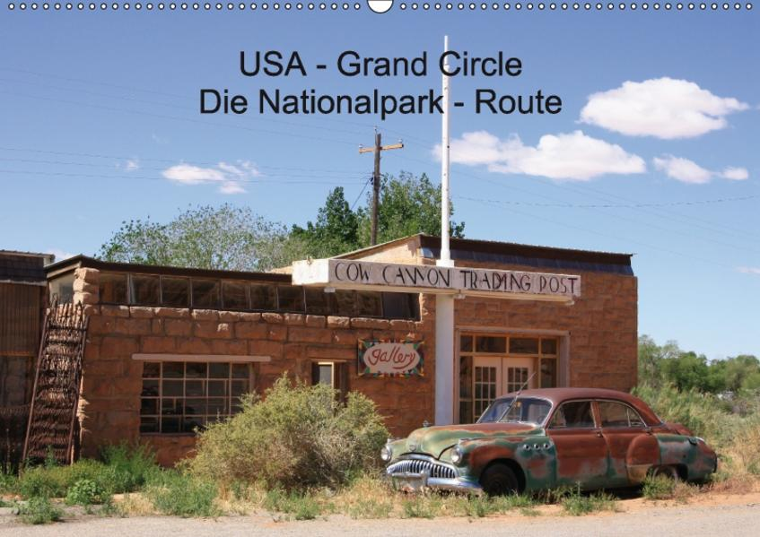 USA - Grand Circle (Wandkalender 2017 DIN A2 quer) - Coverbild