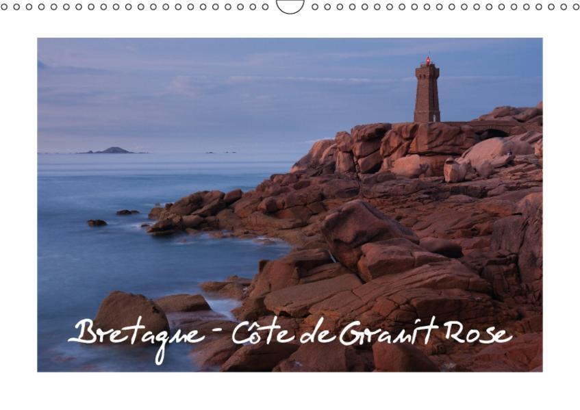 Bretagne - Côte de Granit Rose (Wandkalender 2017 DIN A3 quer) - Coverbild