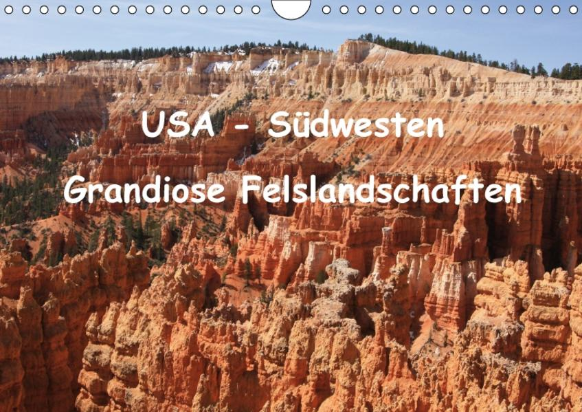 USA - Südwesten (Wandkalender 2017 DIN A4 quer) - Coverbild