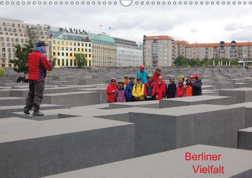 Berliner Vielfalt (Wandkalender 2017 DIN A3 quer) - Coverbild