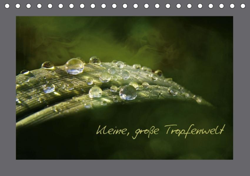Kleine, große Tropfenwelt (Tischkalender 2017 DIN A5 quer) - Coverbild