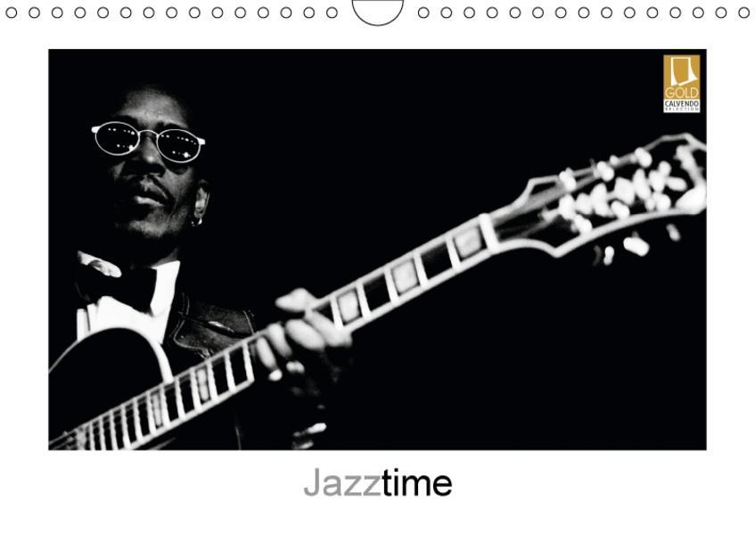 Jazztime (Wandkalender 2017 DIN A4 quer) - Coverbild