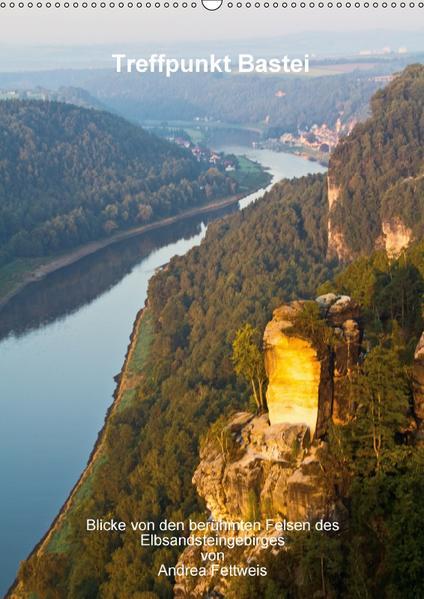 Treffpunkt Bastei (Wandkalender 2017 DIN A2 hoch) - Coverbild