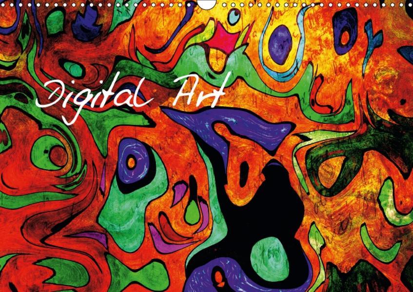 Digital Art (Wandkalender 2017 DIN A3 quer) - Coverbild