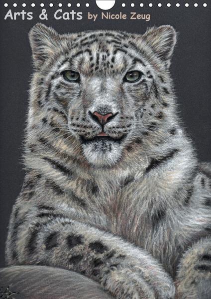 Arts & Cats (Wandkalender 2017 DIN A4 hoch) - Coverbild
