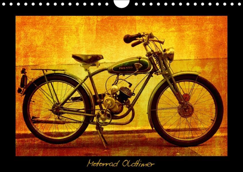 Motorrad Oldtimer (Wandkalender 2017 DIN A4 quer) - Coverbild